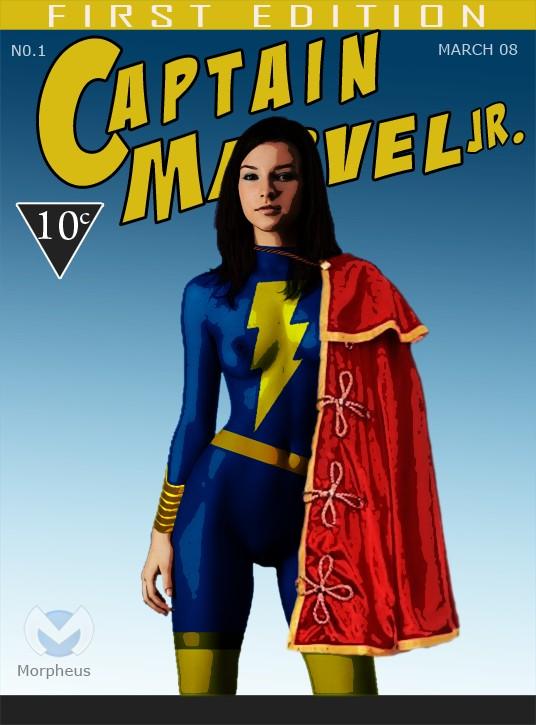 Captain Marvel JR
