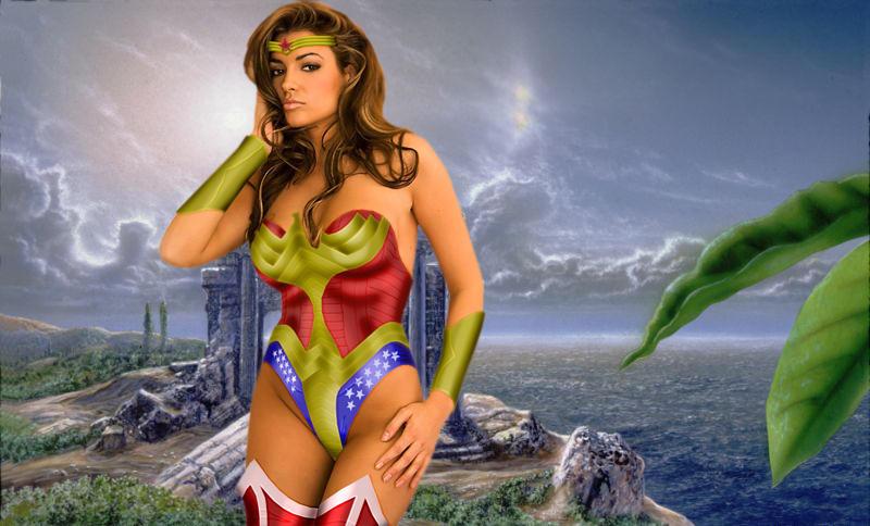 New Wonder Woman on Paradise Island