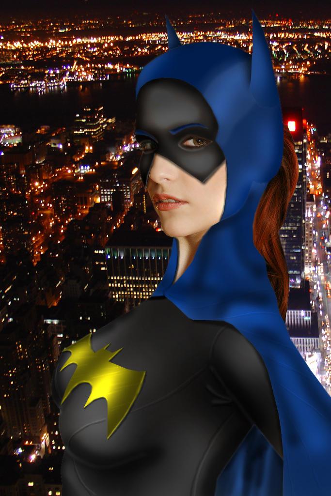 Batgirl on Patrol