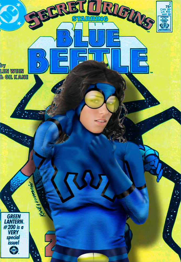 Blue Beetle  gender-bender  by TAZMAN