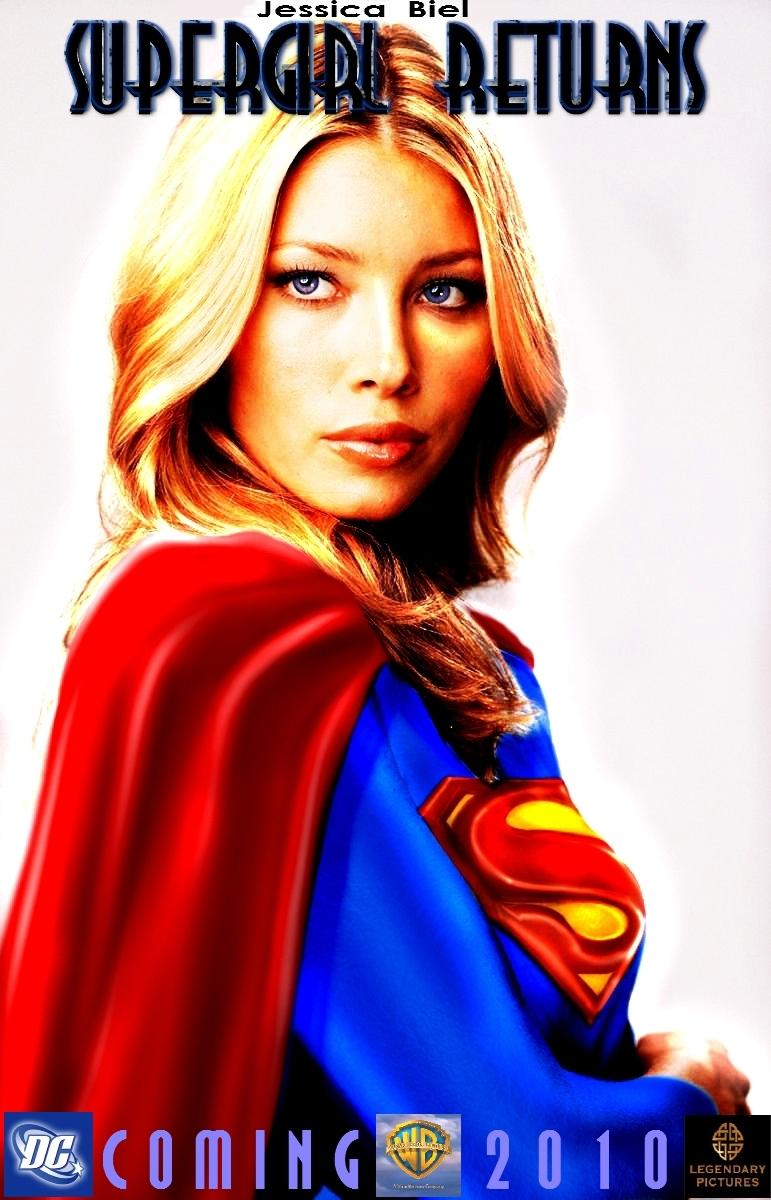Jessica Biel in Supergirl Returns