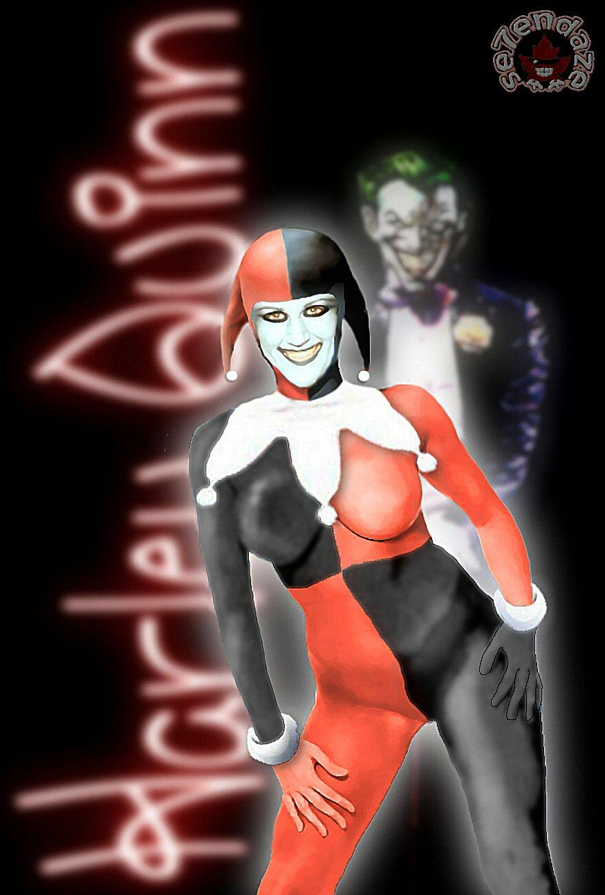 """Eve Lawrence as... """"Harley Quinn"""""""