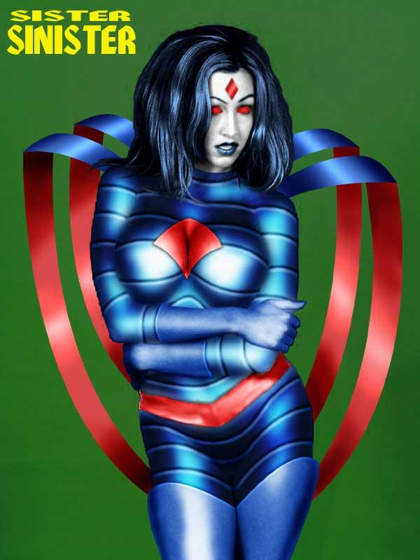 Ms. Sinister by Sleepenemy
