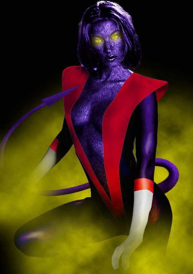 Female Nightcrawler by QuantumFX