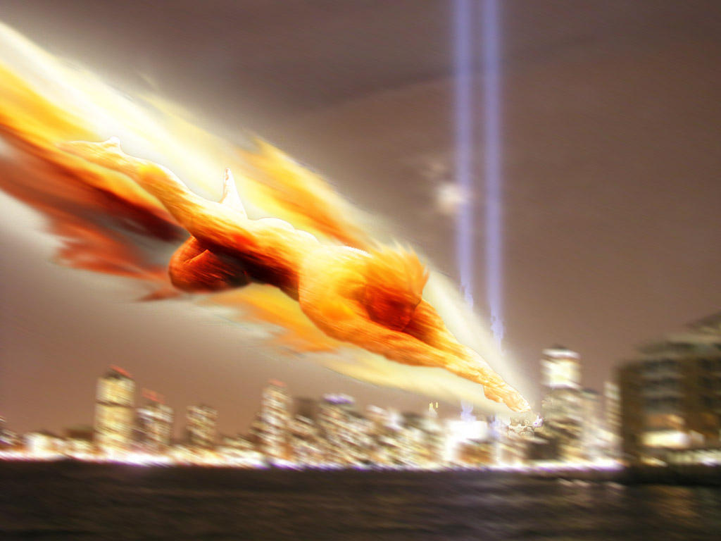 Human Torch by batmic