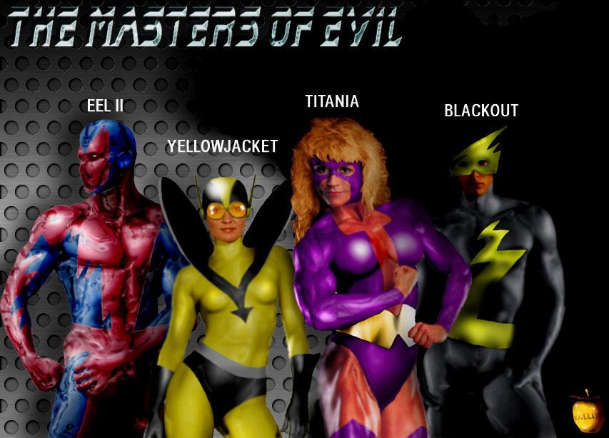 Masters of Evil Repost