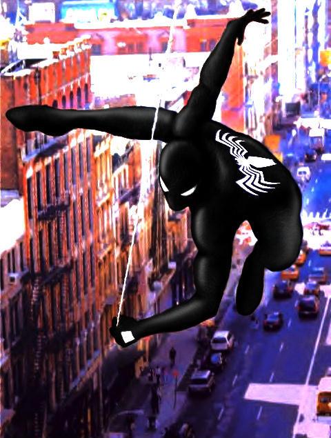 Spiderman (Black Costume)