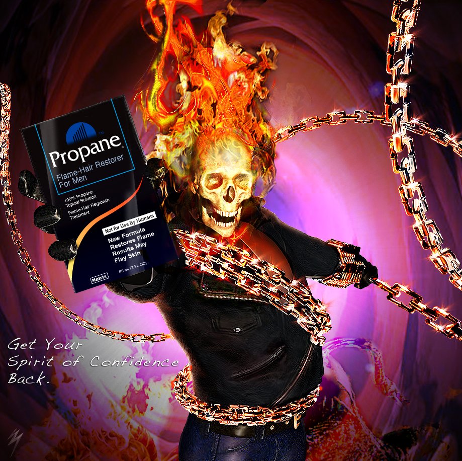 ISA: Ghost Rider for Propane