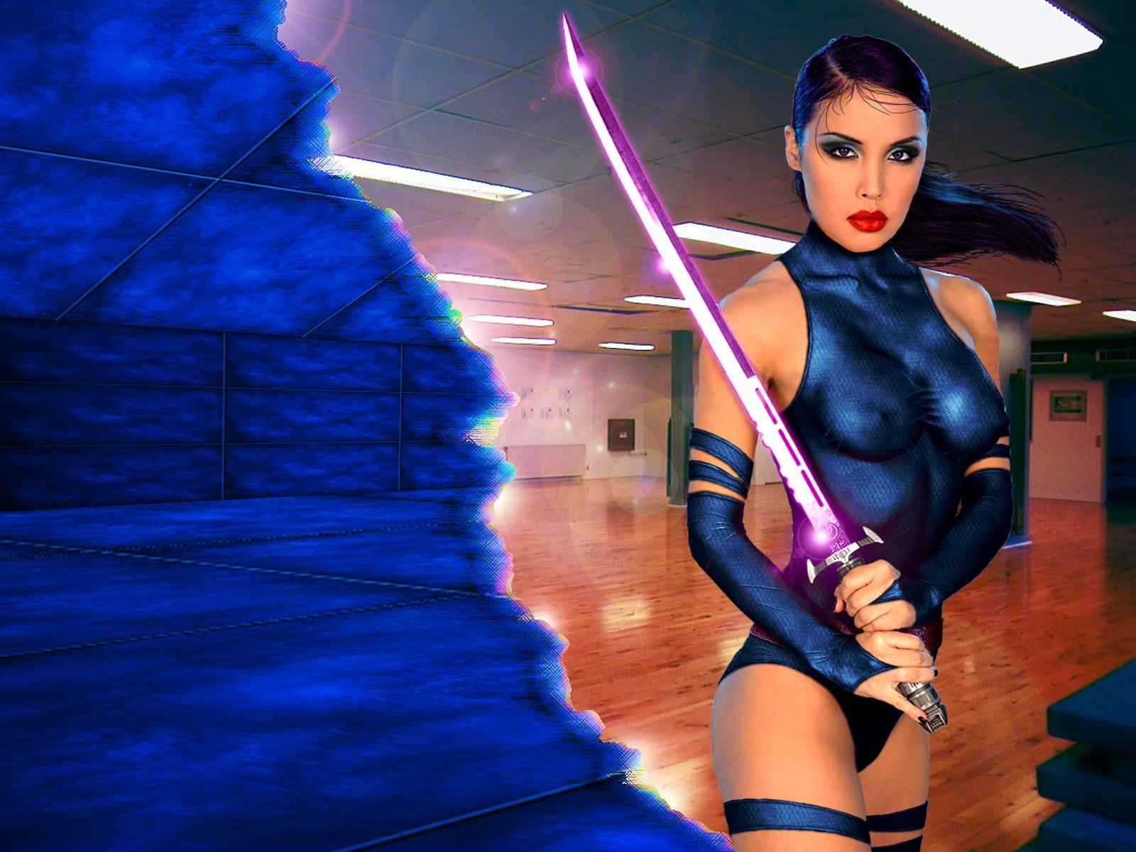 Psylocke - Danger Room Training