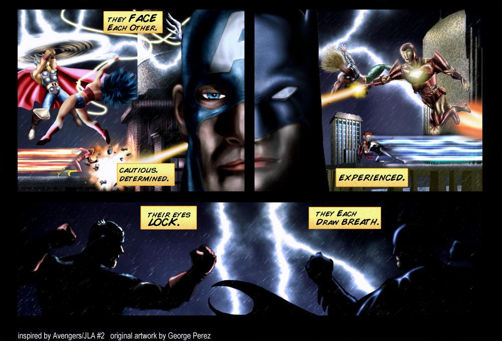 JLA vs. Avengers by B and Dan
