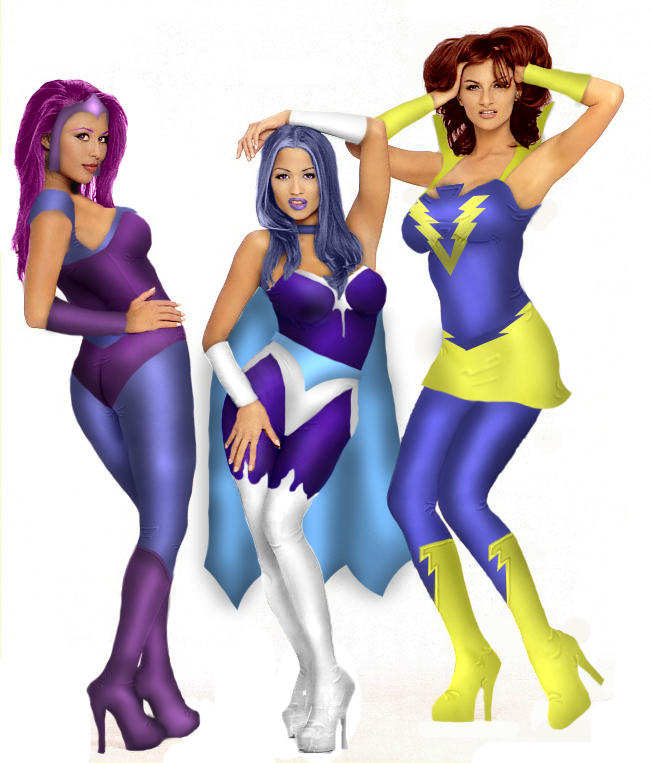 She-Ra girls