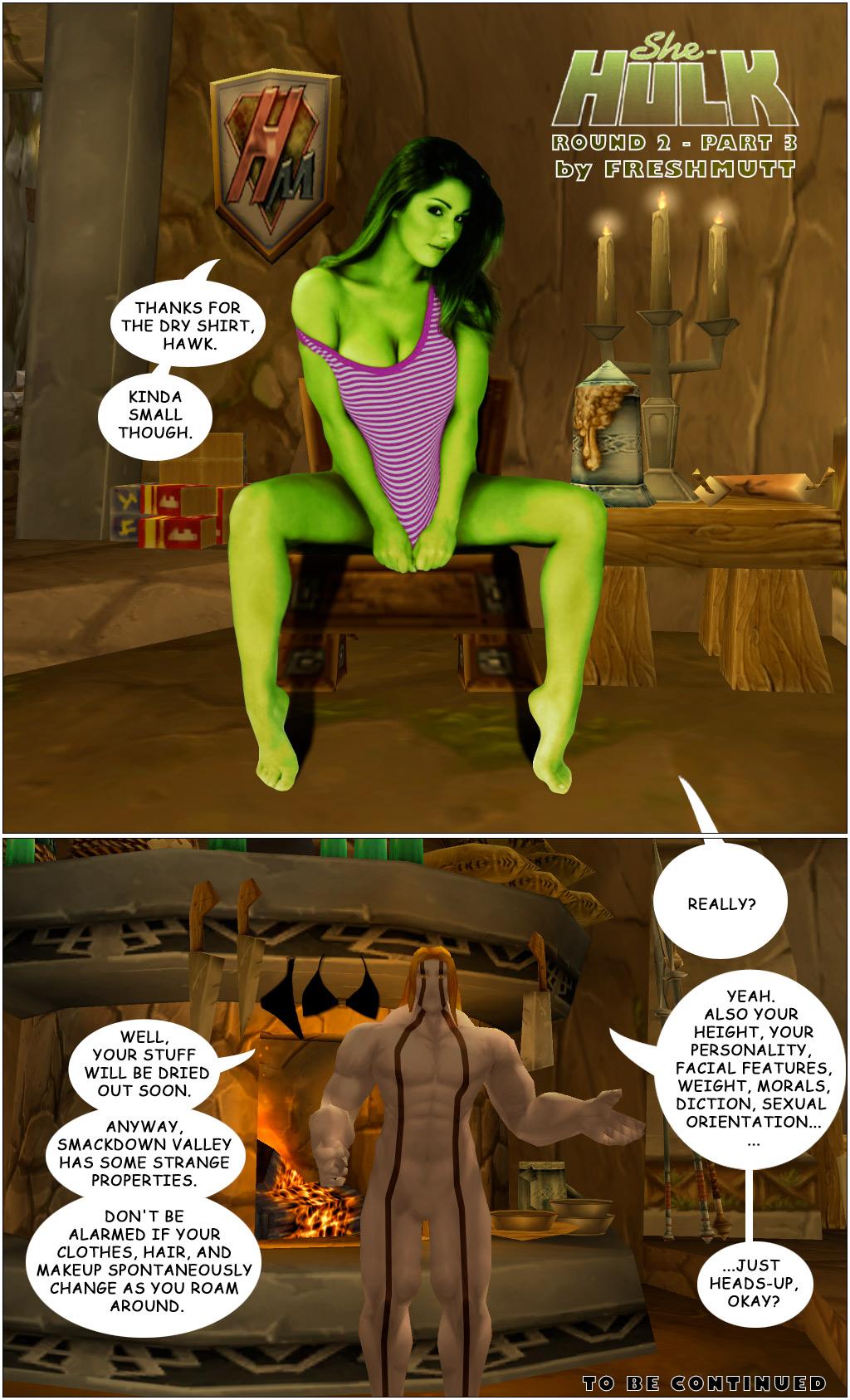 Smackdown 3: She-Hulk R2 P3