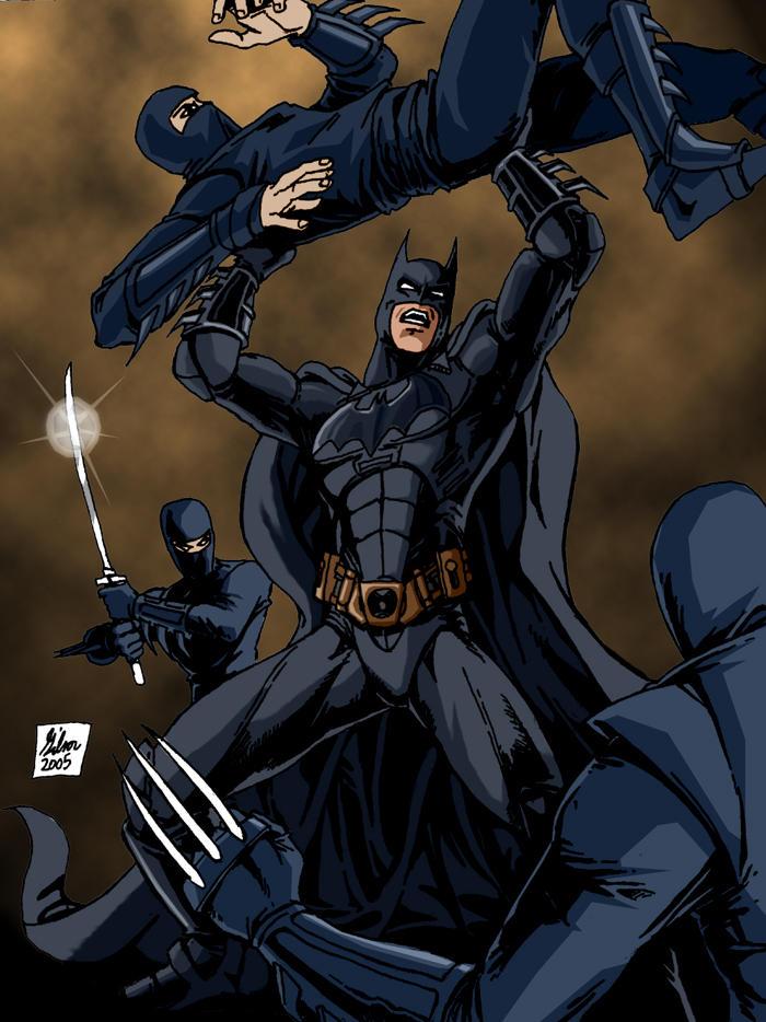 Batman vs the Ninjas