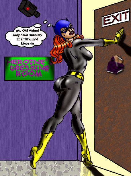 Bat Girl By MissVee colored by me