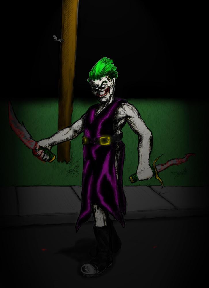 Joker Jr. by Biohaz_Daddy/coloured by cK