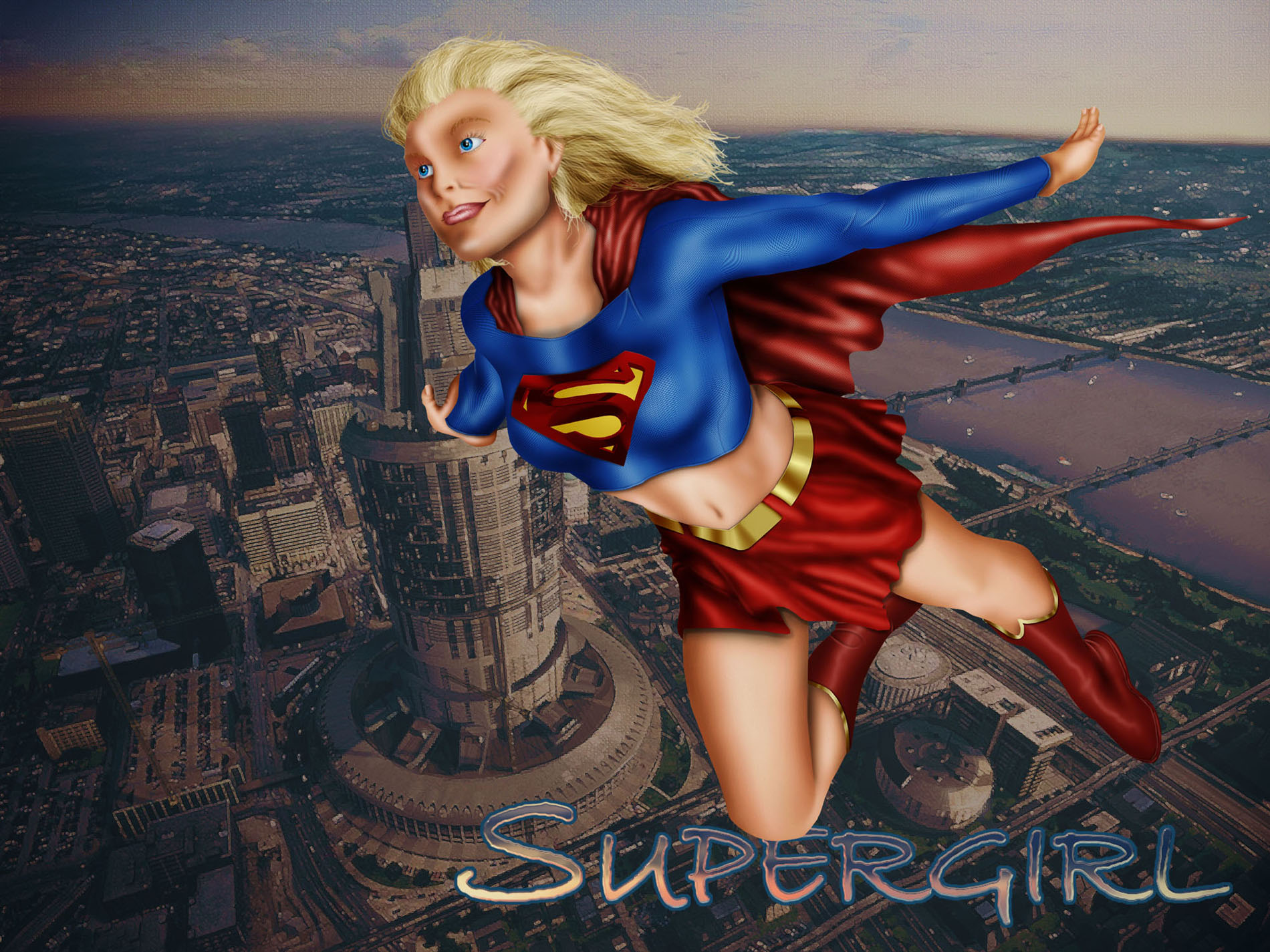Supergirl_All Photoshop