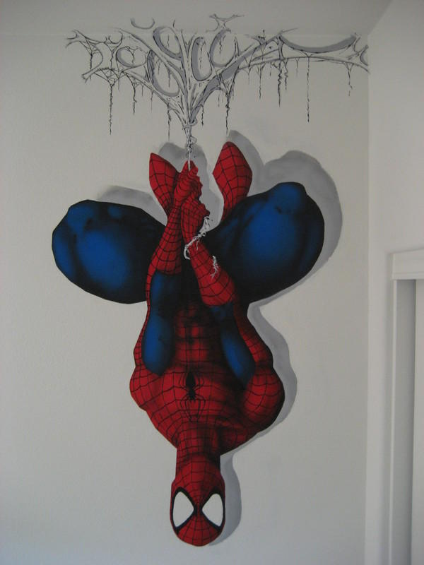 spidey on MY wall