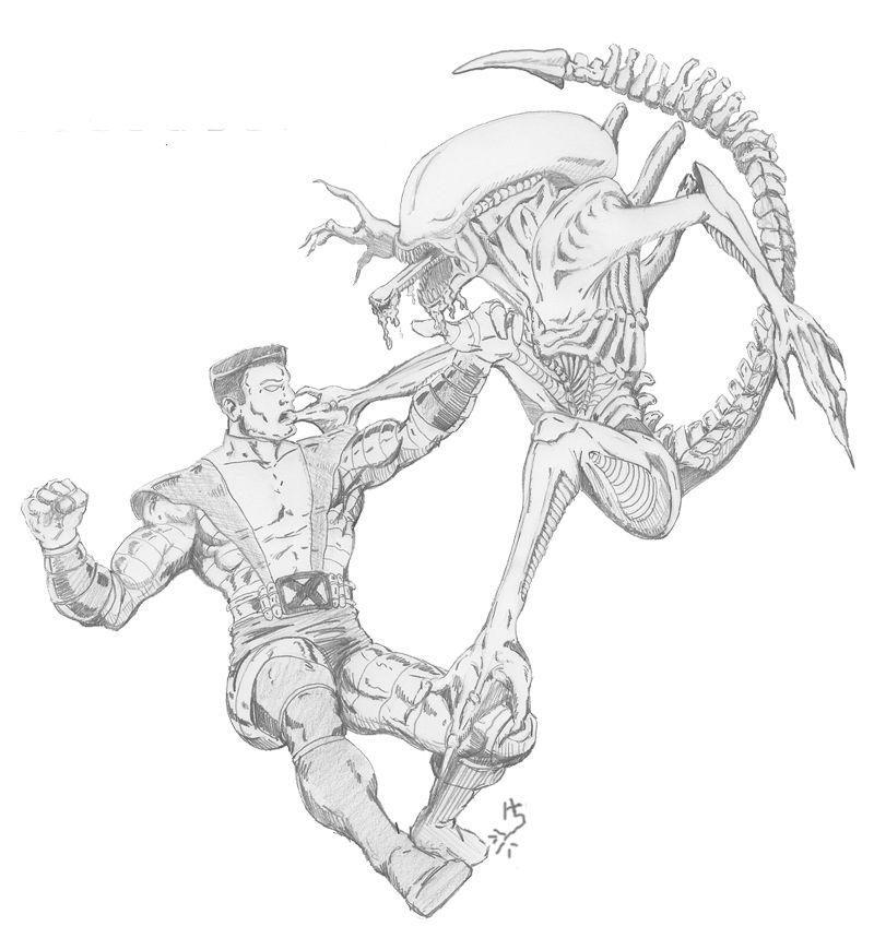 Colossus vs Alien