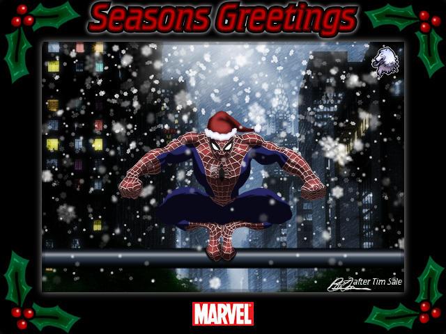 Spidey's Seasons Greetings