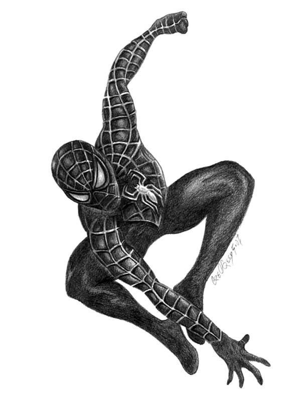 Spiderman In Black(for Spidey month)