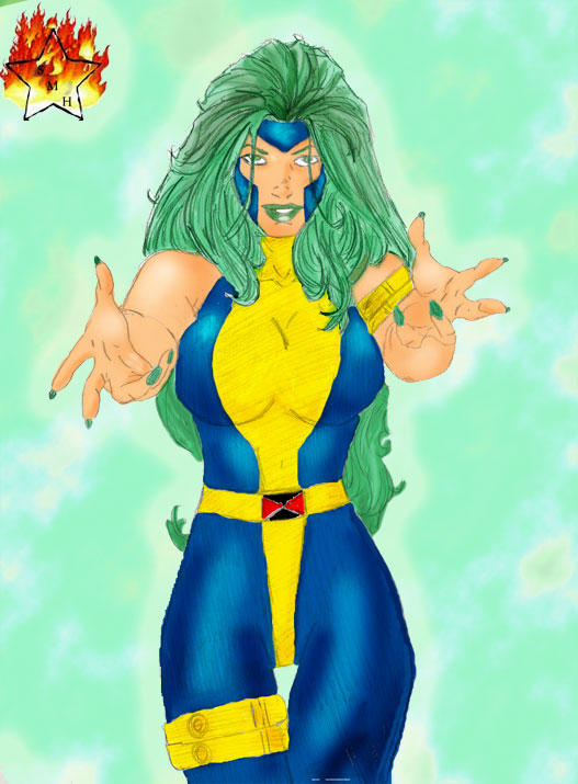 Polaris Sketch - by VampireLover in Color
