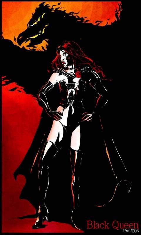 The black queen (aka Jean Grey)