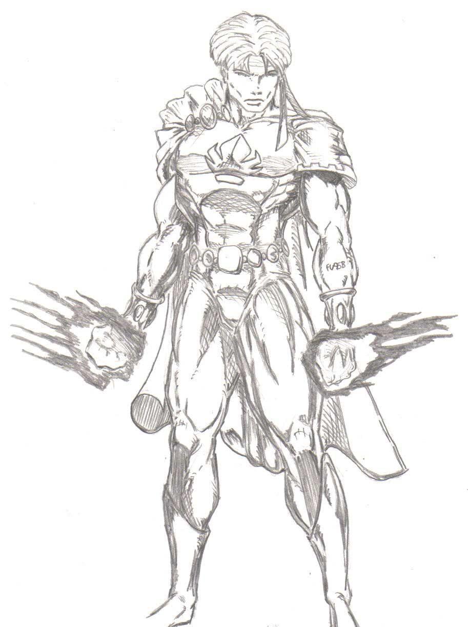 Marvel Boy draw off