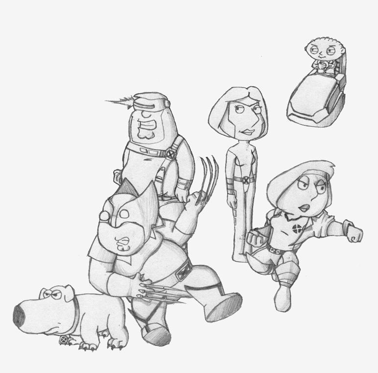 Draw Off #9 - X-Family