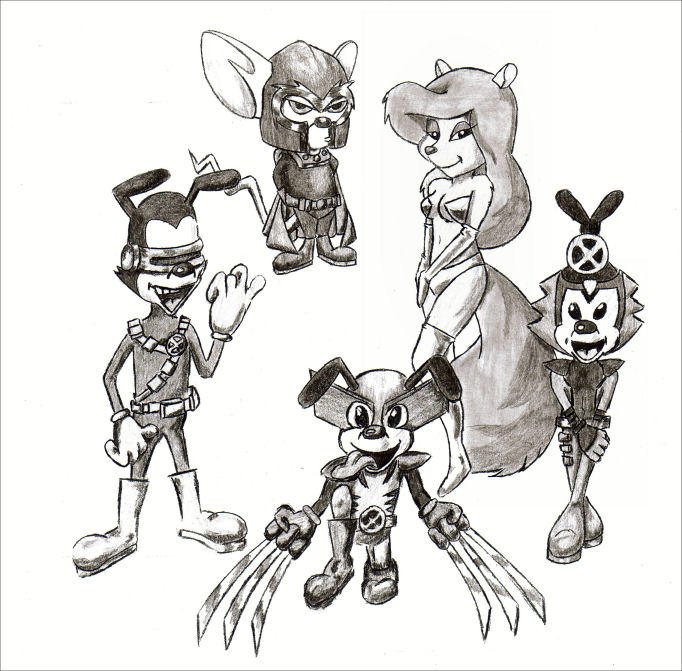 Draw /Off #9: AnimaniaX-Men