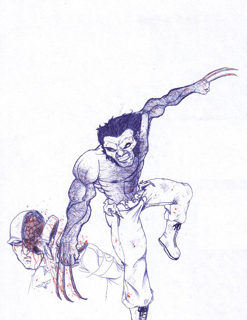 Draw Off - (PENS ONLY) Wolvie
