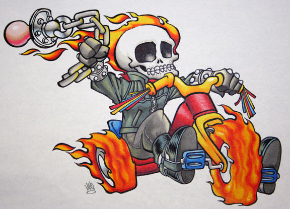 BABY GHOST RIDER