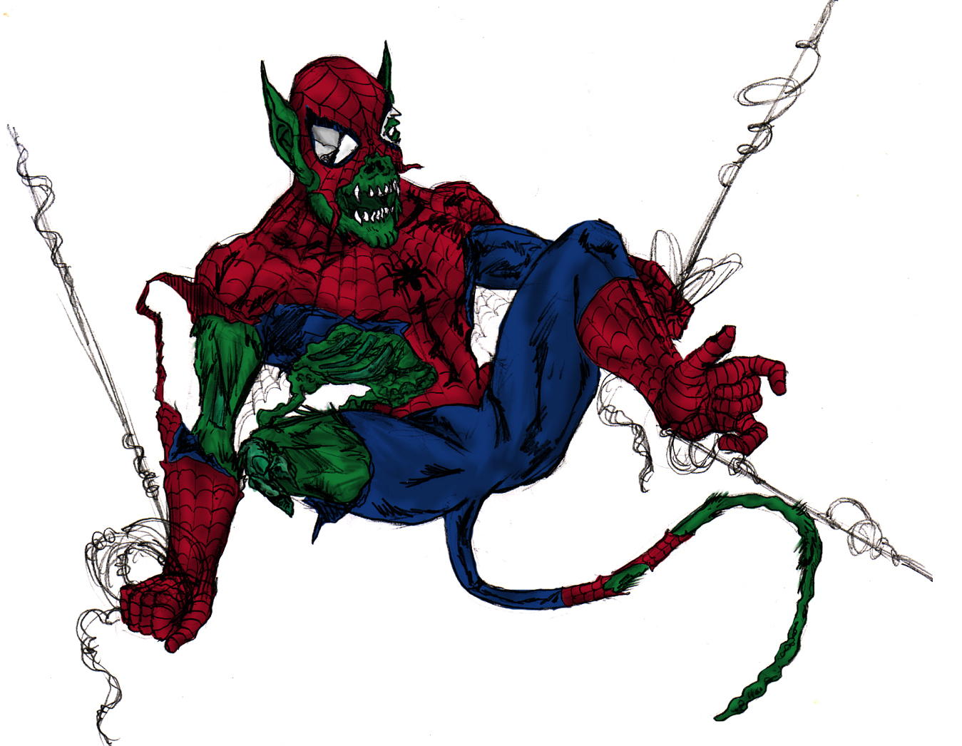 MARVEL Zombie, Skrull, Ape Spider-Man
