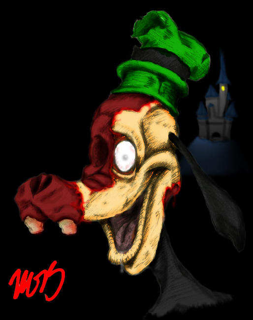 The Zombie Goof drawn by Biohaz_Daddy coloured by cK