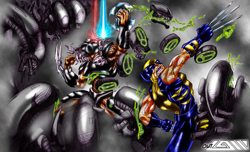 Predator / Wolverine Vs. Aliens