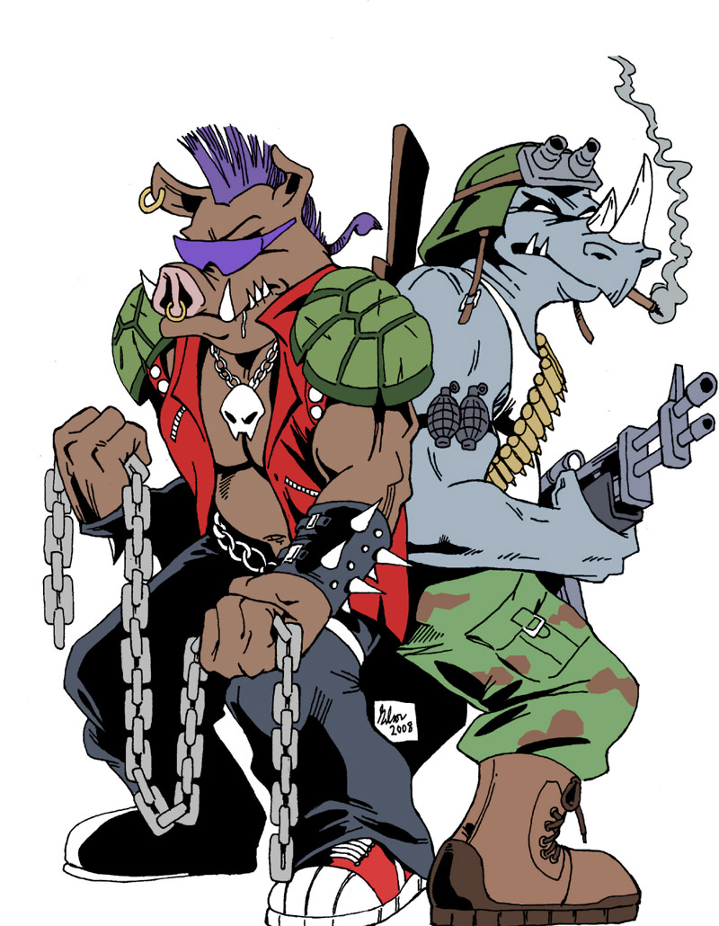 Bebop and Rocksteady