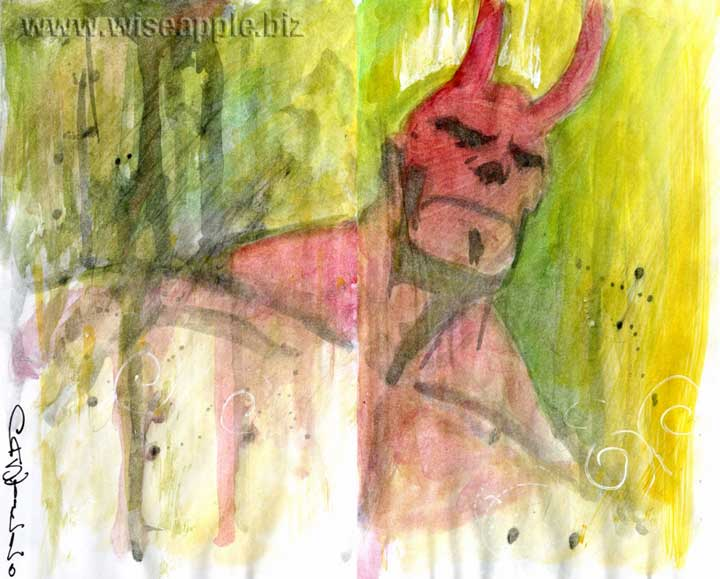 HELLBOY: Commish . . . . by Tommy Castillo