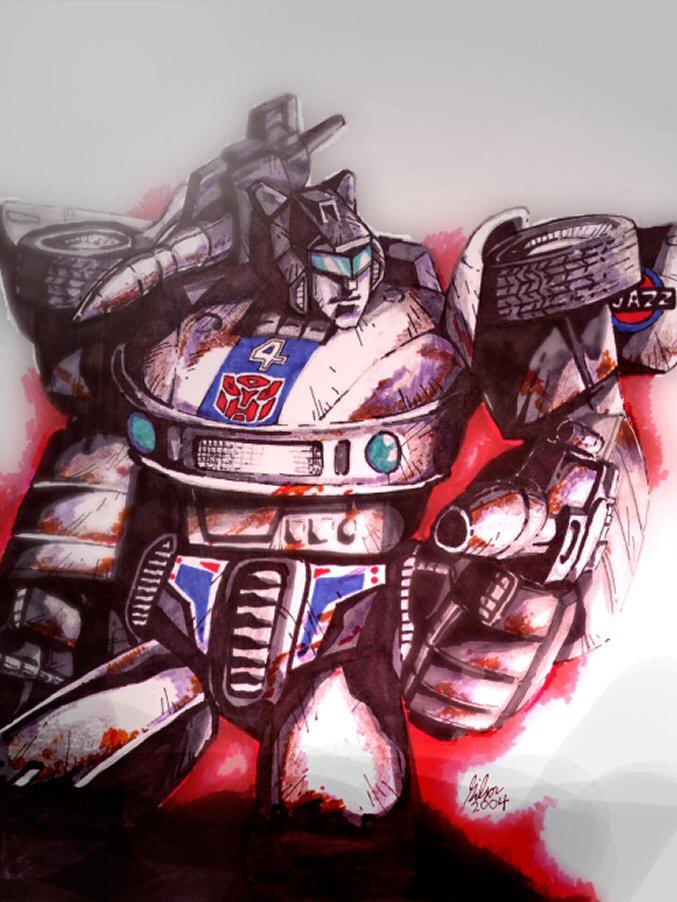 Jazz, Autobot Special Operations Saboteur