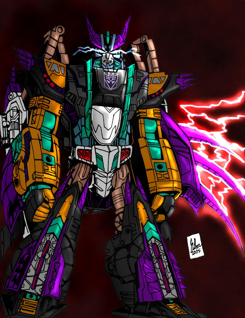 Megatron from Transformers: Cybertron