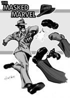 The Masked Marvel!