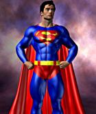 Superman Basic Pin up