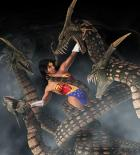 Wonder Woman vs Serpents