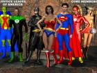 Justice League of America - Core members