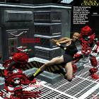 Black Canary vs the Battle Bots