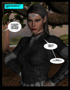 """""""The Adventures of Solani Darlan-Aranstar"""" Issue 3, page 13"""