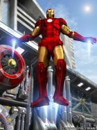 Iron Man Industrial Landing