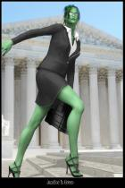 Justice Is Green
