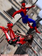 Spider-Man vs Rocket Racer