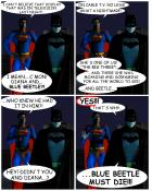 "SUPERHERO SMACKDOWN: ""Meanwhile, In Gotham City..."""