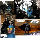 "SUPERHERO SMACKDOWN: ""Dark Knight Over Adventure Island"""