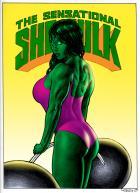 THE SENSATIONAL SHE-HULK colored
